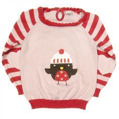 Śliczny sweterek dla dziewczynki TU w rozmiarze 74/80