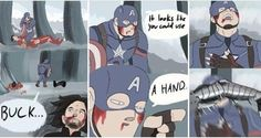 Bucky's done with Steve's shit