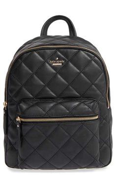 kate spade new york 'emerson place - ginnie' quilted leather backpack