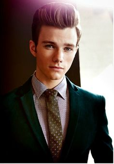 Chris Colfer : Photoshoot Icon Magazine 2