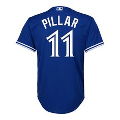 bd5b924145b Toronto Blue Jays Little Kids  Cool Base Kevin Pillar Replica Alternate Baseball  Jersey