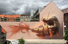 Playful and Colorful Street Art Works by Wes21