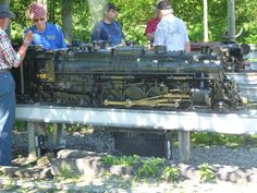 Live Steam Locomotive, Trains, Scale, Miniature, Backyard, Model, Weighing Scale, Patio