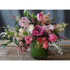 Spring pinks with andromeda, delivery design from Sullivan Owen. Call 215-964-9790 to order for yourself or for a friend!