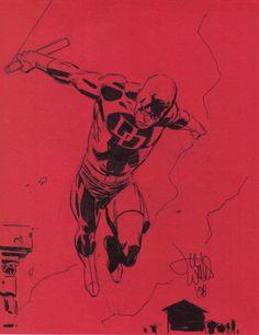 Daredevil by Lee Weeks