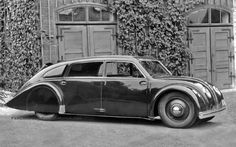 The 1934 Tatra 77 – A Czechoslovakian Masterpiece.  See and learn more @ http://theoldmotor.com/?p=107463