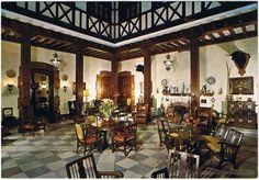 c. 1970 Postales: MURCIA - HOTEL REINA VICTORIA - PATIO - Foto 1 - 51454193