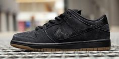 Nike Dunk Low Pro SB – Black / Gum – Images and Release Info