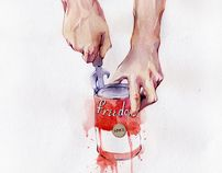 Illustrations by Dima Rebus, via Behance