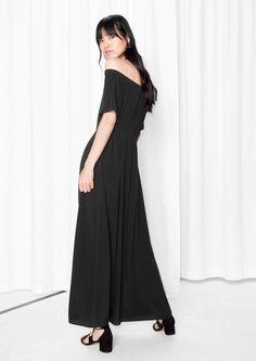 & Other Stories | Off-Shoulder Maxi Dress