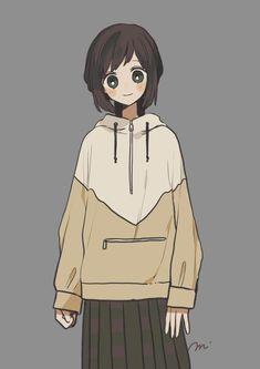 Kawaii Art, Kawaii Anime Girl, Anime Art Girl, Anime Girls, Illustration Kawaii, Character Illustration, Anime Chibi, Cute Cartoon, Cartoon Art