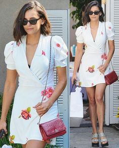 @nina #NinaDobrev #Nina #whitedress""