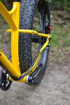 Sklar custom steel fat bike