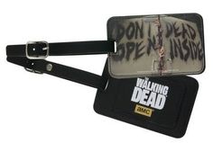 The Walking Dead: Don't Open Dead Inside Luggage Bag Tag