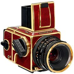 Hasselblad 503 CW Gold Supreme, No. 001, of 500; a 50th Anniversary edition.