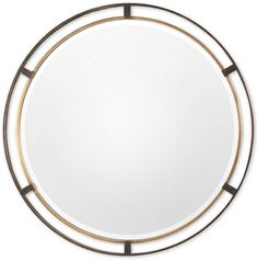 Uttermost Carrizo Bronze Round Mirror Home - Mirrors - Macy's Small Mirrors, Round Mirrors, Bronze Finish, Baby Girl Newborn, Sock Shoes, Mj, Antique Gold, Girls Shoes