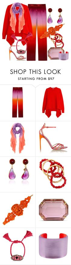 """""""Sizzling"""" by engleann ❤ liked on Polyvore featuring Alexander McQueen, Allegra London, Brian Atwood, Loulou De La Falaise, NEST Jewelry, Charlotte Olympia, Shourouk and Alexis Bittar"""