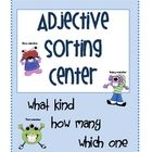 This is an adjective activity that can be used as a literacy center.There are 24 adjective cards, 3 sorting mats labeled with: how much, how ma...