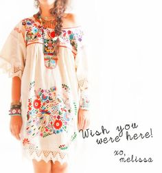 I don't know who Melissa is, but I sure wish I owned her dress!!!