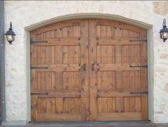 Beautiful Wood Garage Doors!