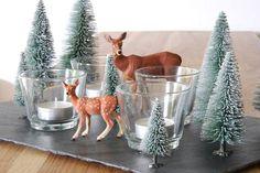 THE THREE YEARS PROJECT: Adventskranz mal anders // Winterwald mit Teelichtern