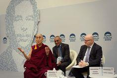 FORUM 2000 - Dalai Lama with Václav Havel Graphic design Project Board, Dalai Lama, Studios, Events, Graphic Design, Studio