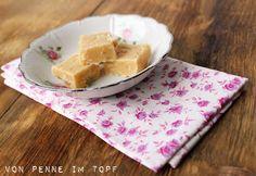 Vanilefudge Vanilla Fudge, Homemade Vanilla, Penne, Sweet Tooth, Sweet Treats, Blog, Pudding, Sweets, Cheese