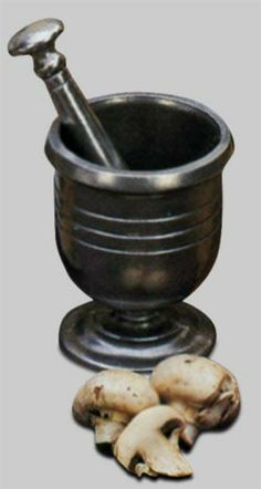 52-934 - Large Mortar & Pestle