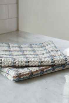 Crocheted Woven Towel from Classic Kitchen Crochet