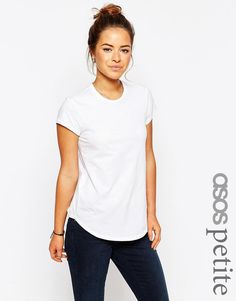 Image 1 of ASOS PETITE The Ultimate Crew Neck T-Shirt