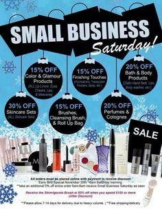 small business Saturday! www.marykay.com/kristen.hagen