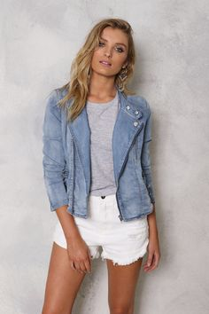 Madison Square - Call Me Maybe Denim Jacket - Pre Order