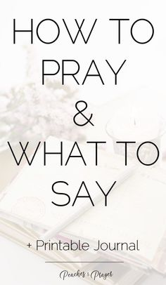 Learn how to pray from Jesus + Free Prayer Journal Printable Prayer Journal Printable, Printable Prayers, What Is Prayer, Christian Prayers, Christian Music, Prayer Quotes, Bible Quotes, Godly Quotes, Qoutes