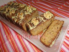 Bizcocho de plátano con polenta (sin gluten) - Chachi-Tarta