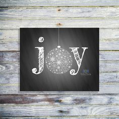Items similar to Joy Christmas Printable – Christmas Wall Art – Holiday Joy Art … Christmas Chalkboard Art, Christmas Wall Art, Christmas Signs, Christmas Decorations, Christmas Holiday, Christmas Images, Christmas Christmas, Holiday Ideas, Xmas