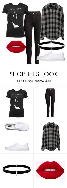 """""""Untitled #382"""" by vickyagh ❤ liked on Polyvore featuring Vans, Rails and Lynn Ban"""