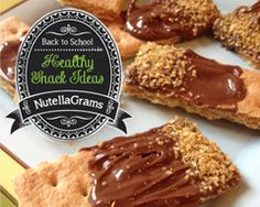 NutellaGrams 31 Healthy Snack Ideas from eMeals thumb Less Stress For Back To School Time With eMeals!!