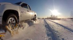 #TrackNGo  is the first ever ''wheel driven track system for pickup trucks''! This innovative and unique system opens the market to an easier utilisation of track system in winter time.