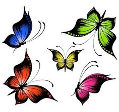 Butterflies Emoticon - Facebook Symbols and Chat Emoticons