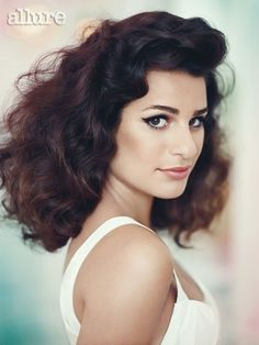"lea michele - ""allure"" dec/2011 - photographed by: norman jean roy."