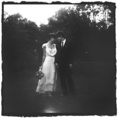 I love the vintage/antique look for wedding photos (at least a couple)