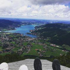 Hoch oben auf dem Wallberg with my love. #tegernsee #wandern #walking #bayern #vacation #shorttrip #bavaria #hiking