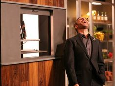Cutthroat Kitchen - Alton Brown laughing during an auction.  I love his evil laugh. Hahahahaha!!!! LOL!!!!!