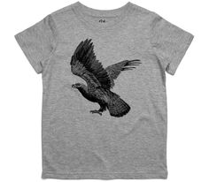 El Cheapo American Eagle Youth Grey Marle T-Shirt