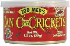CAN O MINI CRICKETS 1.2OZ
