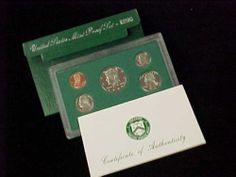 Mint Proof Set in Original Government Packaging W// Envelope and COA 2002 U.S