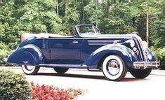 1936 Hudson Model 65 Convertible