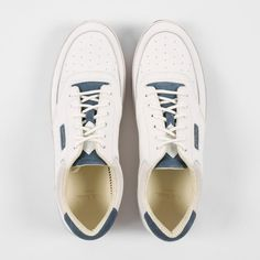 Paul Smith Men's Shoes   White Leather And Suede 'Harrison' Trainers Paul Smith, White Leather, Men's Shoes, Trainers, Tennis, Man Shoes, Men's Footwear, Men's Boots