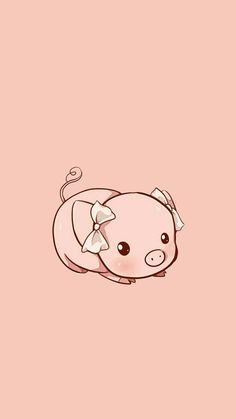 Kawaii wallpapers ❤ pig wallpaper, cute wallpapers y cute pigs. Wallpaper Fofos, Pig Wallpaper, Cute Disney Wallpaper, Kawaii Wallpaper, Animal Wallpaper, Hd Cute Wallpapers, Cute Wallpaper Backgrounds, Wallpaper Iphone Cute, Kawaii Drawings