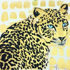 """""""All that glitters is #gold.. This sassy cat and other new pieces will be available online Monday! #megancarn"""""""
